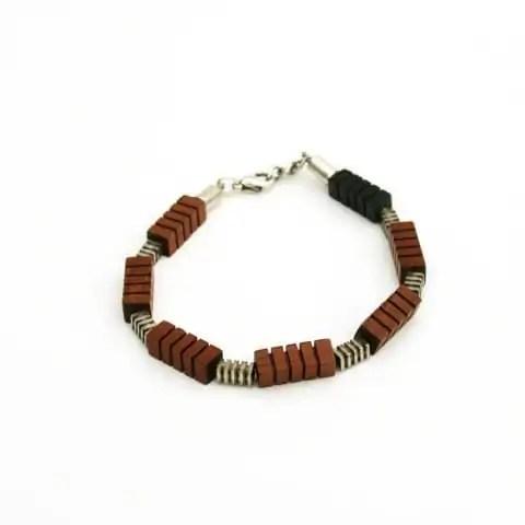 Houten armband2 - Margeaux