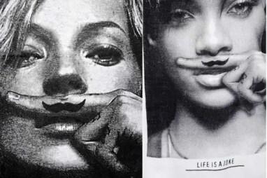 Moustache-Tee
