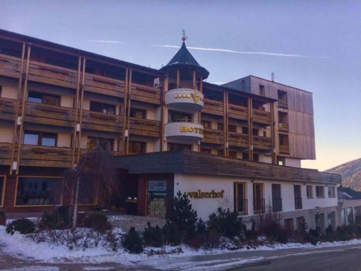 Hotel Valserhof-Valles
