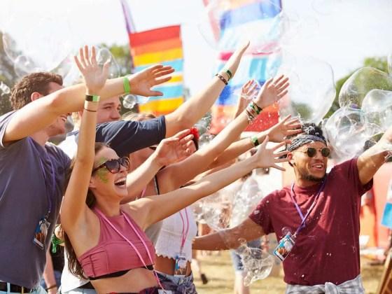 Vrienden festival kwijtraken
