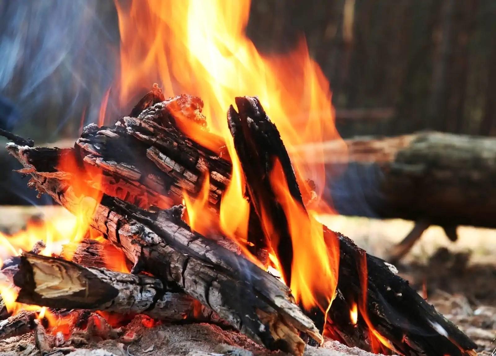 Het perfecte vuurtje