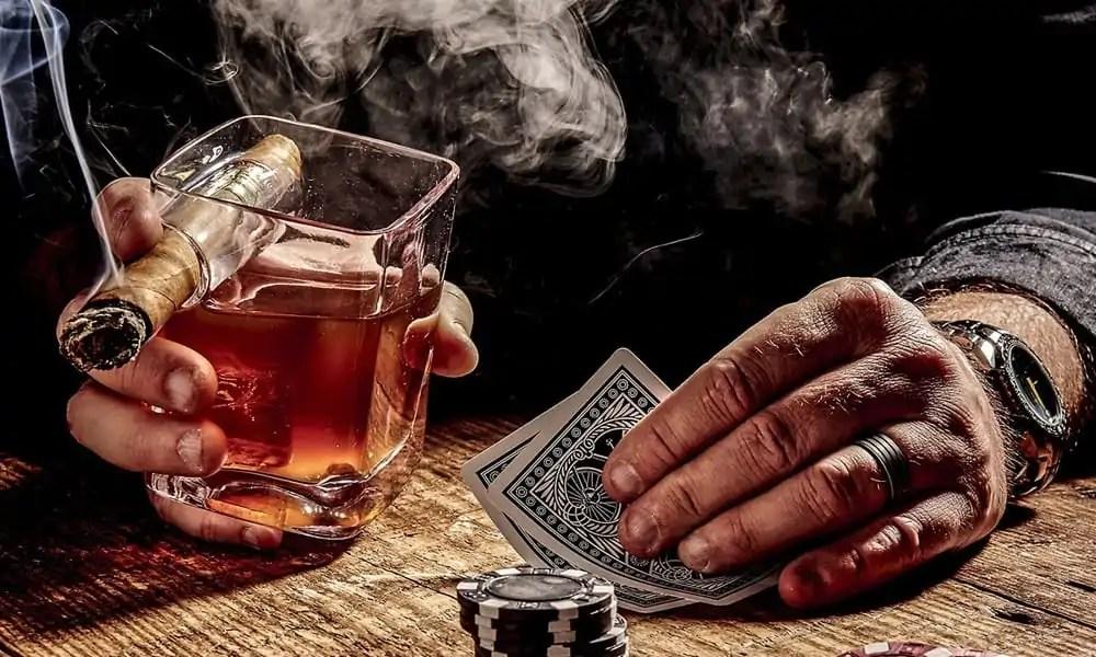 whisky-sigaarhouder