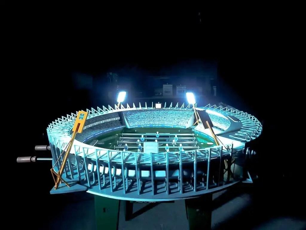 stadion tafelvoetbaltafel