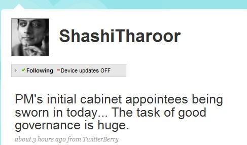 You go Tharoor! :D