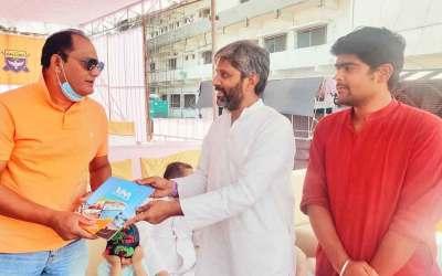 Md. Azaruddin and Md. Kaif Invited to Maniknagar.
