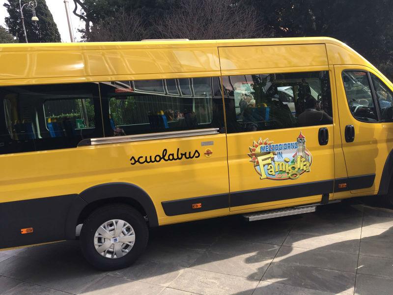 scuola bus amatrice