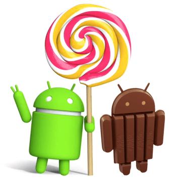 android lollipop finalmente supera versão kitkat