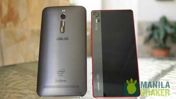 Asus Zenfone 2 ZE551ML vs Lenovo Vibe Shot Quick Battery Test