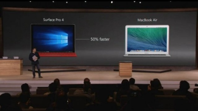 Macbook Air vs Surface Pro 4 Perfomance