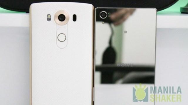 LG V10 vs Sony Xperia Z5 Premium Comparison Camera Review
