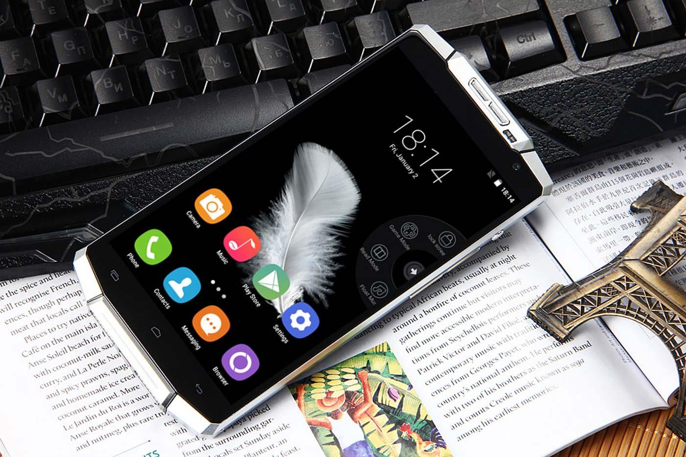 67896d9acfdf2d Oukitel K10000 Smartphone Has a 10-day Battery Life, 10000mAh ...