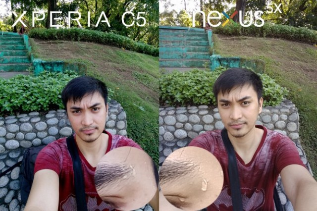 xperia c5 ultra vs lg nexus 5x camera review comparison8