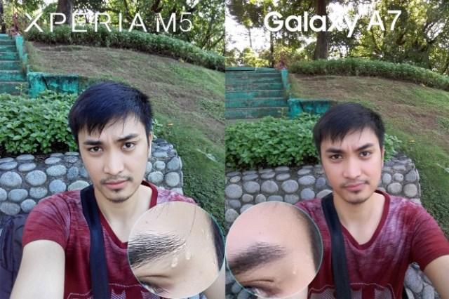 xperia m5 vs galaxy a7 camera review comparison5