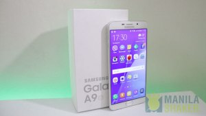 Samsung Galaxy A9 Unboxing