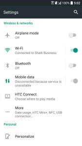 HTC 10 OS Android 6 Marshamallow Sense UI 9