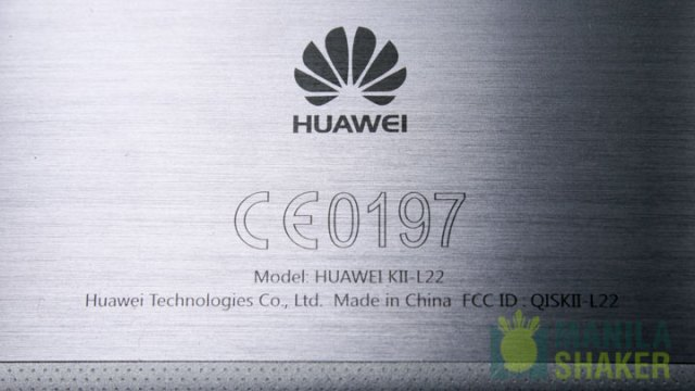 Close up Huawei Logo