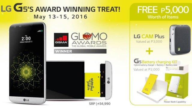 LG G5 Cam Plus Module Battery Charging Kit Price PH