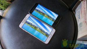 Samsung Galaxy C5 C7 Review vs iPhone 6s Comparison 11