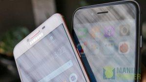 Samsung Galaxy C5 C7 Review vs iPhone 6s Comparison 9