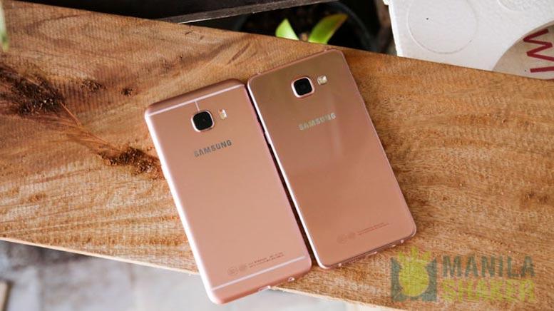 Samsung Galaxy C5 Vs Galaxy A5 2016 Review Comparison Ph