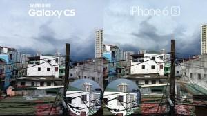 Samsung Galaxy C5 vs iPhone 6s Camera Review 3