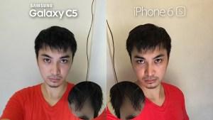 Samsung Galaxy C5 vs iPhone 6s Camera Review 8