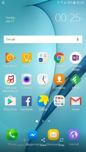 Samsung Galaxy C5 Software UI OS Android 6.0 Marshmallow
