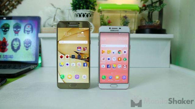 Samsung Galaxy C7 vs Galaxy C5 Full Review Comparison Camera PH 5