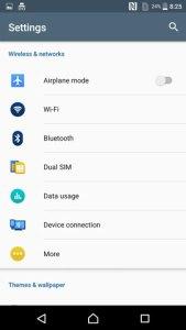 Sony Xperia XA Screenshot Android 6.0 Marshmallow OS review 17