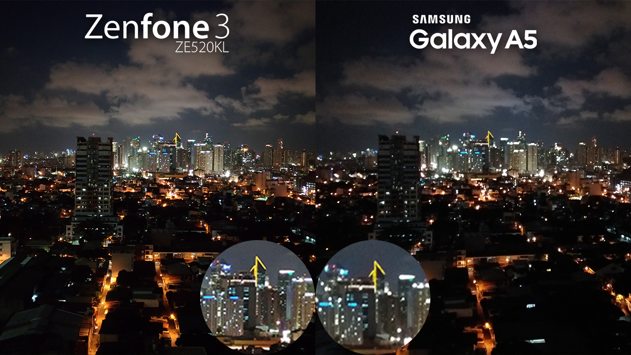 Asus Zenfone 3 Vs Galaxy A5 2016 Review Camera Comparison