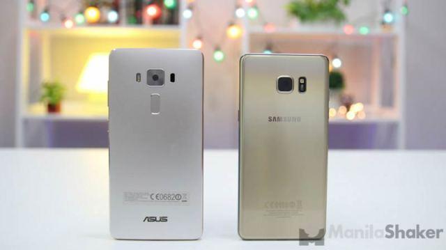 Asus Zenfone 3 Deluxe vs Samsung Galaxy Note 7 Comparison Camera Review Specs Price Philippines