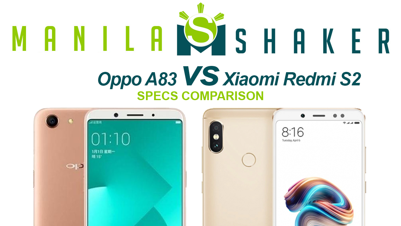 Oppo A83 vs Xiaomi Redmi S2 — Specs Comparison