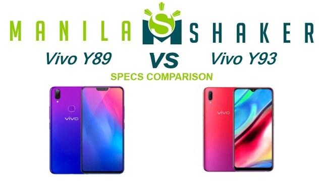 Vivo-Y89-vs-Vivo-Y93-Specs-Comparison
