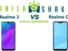 realme-3-vs-realme-c1-specs-comparison