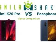 redmi-k20-pro-vs-pocophone-f1-Specs-Comparison