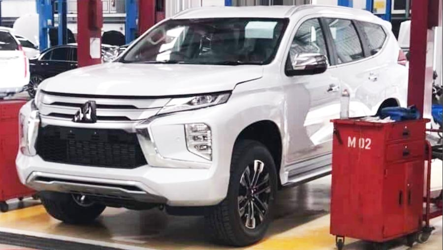 2019 Mitsubishi Montero Redesign, Price, Launch Date >> 2019 Mitsubishi Montero Sport Photos Leaked Controversial