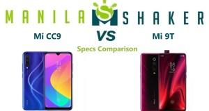 mi-cc9-vs-mi-9t-Specs-Comparison