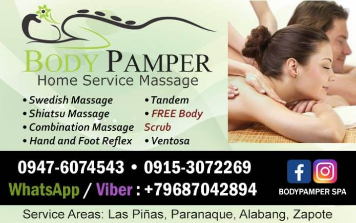 Body Pamper Home & Hotel Service