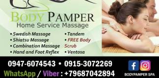 100419 body pamper new home service spa las pinas