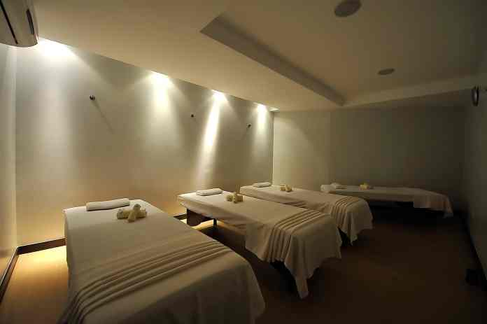 male common massage area Blue Water BlueWater Day Spa Philippines