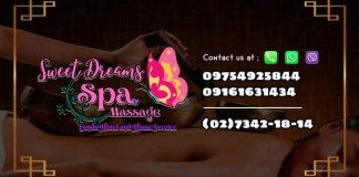 sweet dreams spa massage home service female philippines pasay makati manila image