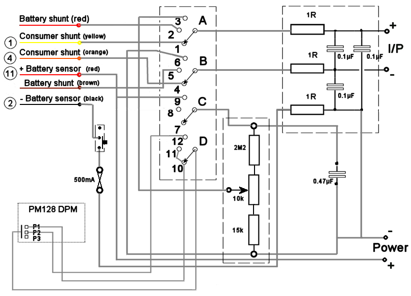 ammeter_wiring_circuit(mod)?resize=665%2C479 diagrams rotary 3 position wiring diagrams offsetguitars view 10 position rotary switch wiring diagram at gsmportal.co
