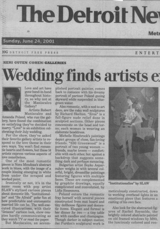 weddingfindsartistsexamininglove