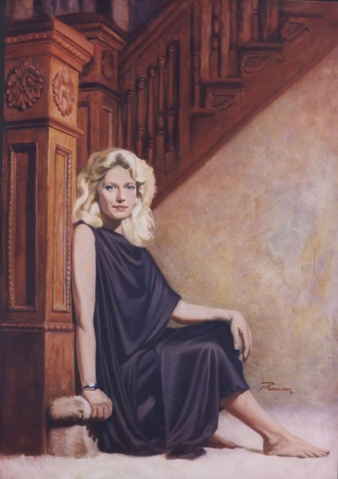 Diane Olsen portrait artist