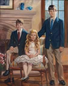 portrait painter of families