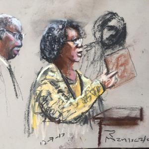 Michael Slager Sentencing Hearing - Judy Scott Testifies