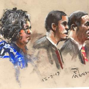 Michael Slager Sentencing Hearing - Scott family