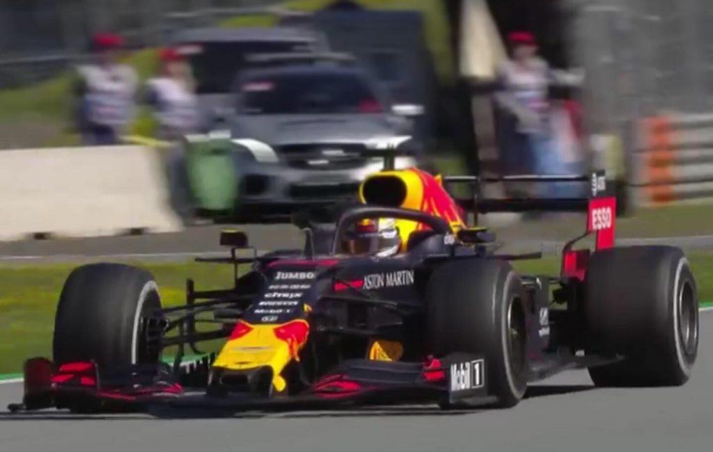 Max Verstappen plek 2 GP Oostenrijk