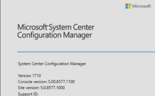 SCCM (System Center Configuration Manager) 1710 Step by Step Upgrade Guide 19