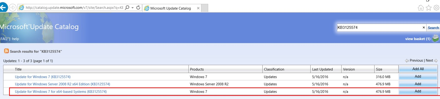 Windows 7: Creating Fully patched Image by Slipstream in the Convenience Rollup and Quality Rollup 2